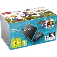 New Nintendo 2DS XL Handheld Console - Includes Power Adapter and Download Code for Super Mario 3D Land Photo