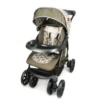 Chelino Coyote 3 Position Travel System With Car Seat - Brown Circles Photo
