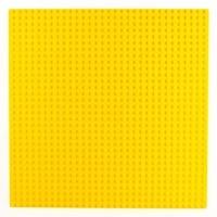 Bricks & Pieces - Flat Baseplate 32x32 - Yellow Photo