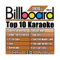 Billboard Top 10 Karaoke:70's Vol 4 CD Photo
