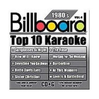 Billboard Top 10 Karaoke 80's Vol 4 CD Photo