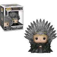 Funko Pop! Deluxe: Game of Thrones - Cersei Lannister Sitting on Throne Vinyl Figurine Photo