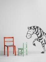 My Wall Tattoos - Corner Zebra Photo