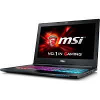 "MSI GS60-6QE-052ZA Ghost Pro 15.6"" Core i7 Gaming Notebook with Bundled Gaming Bag - Intel Core i7-6700HQ 1TB HDD 16GB RAM Windows 10 nVidia GeForce GTX970M Photo"