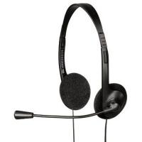 Hama HS-101 Binaural Head-band Black headset HS-101 20 - 20000 Hz 110 dB 1.7 m Photo