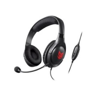 Creative Labs CREATIVE SB BLAZE Black Circumaural Head-band headphone 3 5 mm gamers Photo