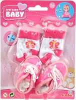Simba New Born Baby - First Steps Shoes and Socks Set Photo