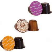 Caffeluxe Mocha Special Capsules - Compatible with Nespresso & Caffeluxe Capsule Coffee Machines Photo