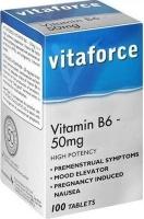 Vitaforce Vitamin B6 - 50mg - High Potency Photo