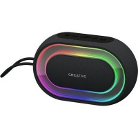 Creative Labs Halo Stereo portable speaker Black Bluetooth 4.2 AUX-in 2200 mAh 510 g Photo