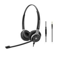 EPOS Sennheiser EPOS   Sennheiser SC 665 Headset Head-band Black Gray 50 - 18000 Hz 1.4 m 59 g Photo