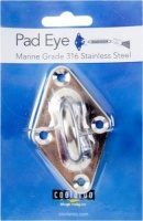 Coolaroo Pad Eye Marine Grade 316 Stainless Steel Photo