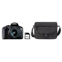 Canon EOS 2000D Digital SLR Camera Starter Kit - EF-S 18-55 Lens 16GB SD Card and Bag Photo