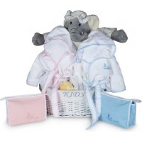 BebedeParis Twins Bathtime Baby Basket Photo