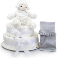 BebedeParis Little Lamb Nappy Cake Photo