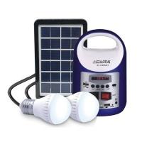 Everlotus Home 3W solar lighting system with Bluetooth Speaker Photo