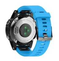Unbranded Silicone Band for Garmin Fenix 5s/ 5s Plus - Light blue Photo
