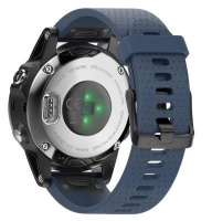 Unbranded Silicone Band for Garmin Fenix 5s/ 5s Plus - Slate Photo