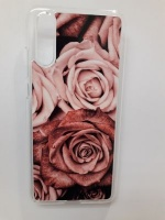 Huawei P20 Cell Phone Case Roses Photo