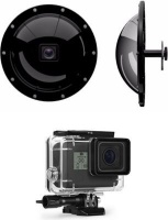 Xtreme Xccessories V3.0 Gdome Pds With Lens On Housing Compatible With Hero 7 / 6 / 5 Black Photo