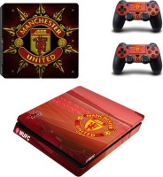 SKIN-NIT Decal Skin For PS4 Slim: Manchester United 2016 Photo