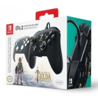 PDP Faceoff Deluxe Wired Controller for Nintendo Switch - The Legend of Zelda: Breath of the Wild Photo