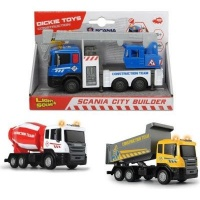 Dickie Toys Construction Series - Scania City Builder Photo
