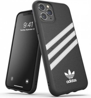Adidas 36279 mobile phone case 14.7 cm Cover Black White 3-Stripes Snap Case for iPhone 11 Pro Photo