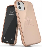 Adidas 36415 mobile phone case 15.4 cm Cover Rose Gold Protective Trefoil Clear Case for iPhone 11 Photo