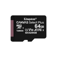 Kingston Technology Canvas Select Plus memory card 64GB SDXC Class 10 UHS-I 2 x microSDXC UHS-I 3.3 V SD adapter Photo