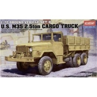 Academy Ground Vehicle Series: 8 - US M35 2.5ton Cargo Truck Model Kit Photo