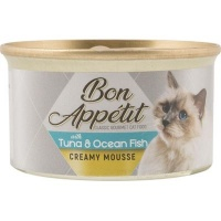 Bon Appetit Creamy Mousse with Tuna & Ocean Fish - Tinned Cat Food Photo