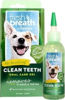 Tropiclean Fresh Breath - Clean Teeth Oral Care Gel for Dogs - Peanut Butter Photo
