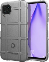 CellTime Huawei P40 Lite Shockproof Rugged Shield Cover - Silver Photo