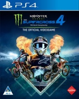Milestone Press Monster Energy Supercross: The Official Videogame 4 - Pre-Order and Receive the Customization Pack Neon Photo
