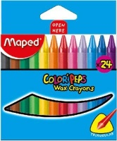 Maped Color'Peps Wax Crayons Photo