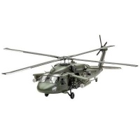 Revell Uh-60a Transport Helicopter Model Set 1:72 Photo