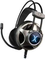 Foxxray Violent Over-Ear Gaming Headphones with Microphone Photo