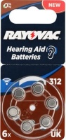 "Rayovac Hearing Aid 6"" a blister Photo"