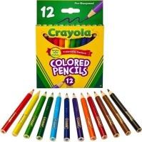 Crayola Half Length Coloured Pencil Crayons Photo