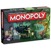 Rick and Morty Monopoly Board Game Photo
