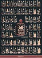 Ginsanity A4 Poster - 60 Gins Before You Turn 60 Photo