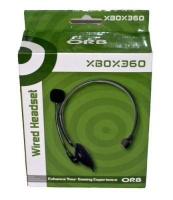 Orb Xbox 360 Wired Headset Photo