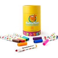 JarMelo Baby Roo Washable Markers: 24 Markers Photo