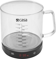 Casa Electronic Kitchen Scale with Jug Photo