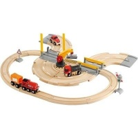 Brio Rail & Road Crane Set Photo