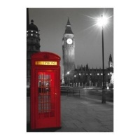 Clementoni High Quality Collection Travel - London Phone Box Jigsaw Puzzle Photo