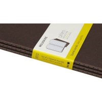 Moleskine Coffee Brown Pocket Squared Cahier Journal Photo