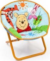 Disney Winnie the Pooh Saucer Chair with FREE Storage Ottoman Photo