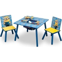 Despicable Me Minions Table & Chair Set with Storage Photo
